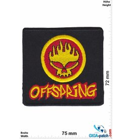 The Offspring The Offspring - gold red - Punkband Orange County