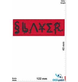 Slayer Slayer - red black