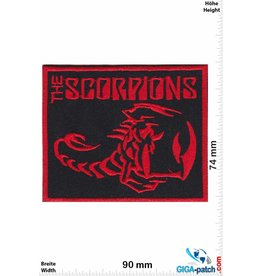 Scorpions The Scorpions - rot - square