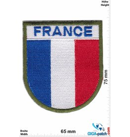 Frankreich, France France  - coat of arms - green