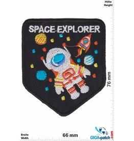 Nasa Space Explorer  - Raumfahrt Weltraum - black