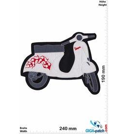 Vespa Vespa - weiss - 24 cm -  Roller - Scooter