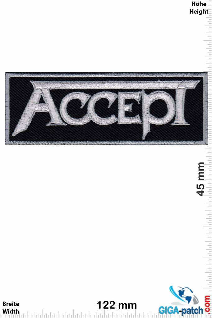 Accept Accept - silver - Heavy-Metal