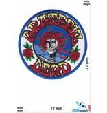 Grateful Dead  Grateful Dead - skull rose - round