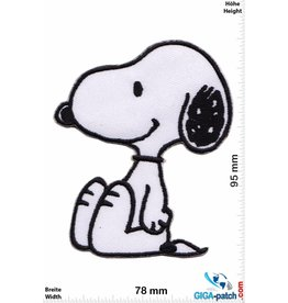 Snoopy Snoopy - Die Peanuts - sit - big