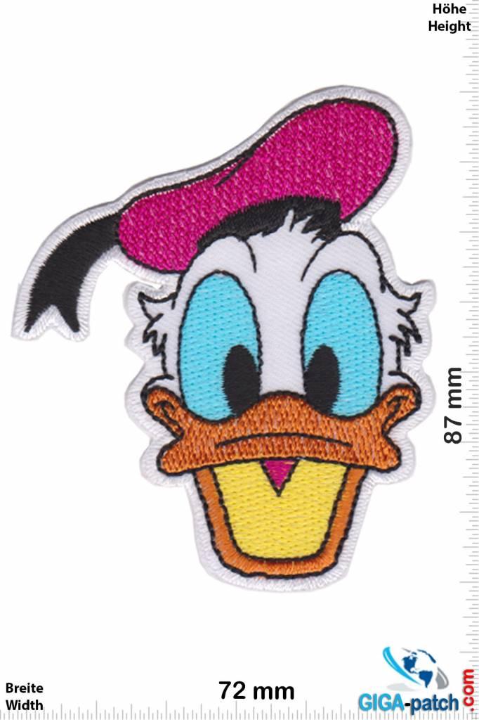 Donald Duck  Donald Duck - pink hat