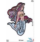 Oldschool Meerjungfrau - Mermaid - color