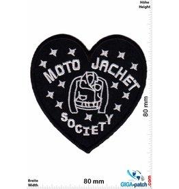 Biker Moto Jacket Society - Herz