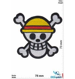 Totenkopf Skull- yellow - Oldschool