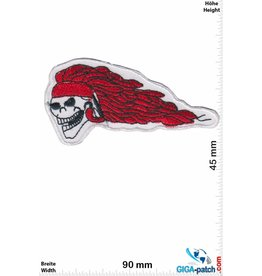Totenkopf Totenkopf - red Hair