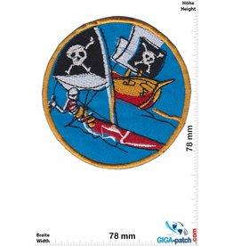 Pirat Pirate - Skull - Surfing