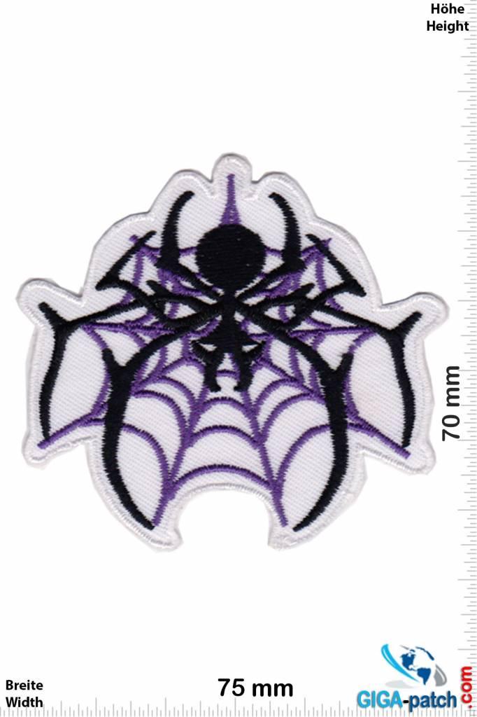 Spinne Schwarze Witwe - Spinne- purple