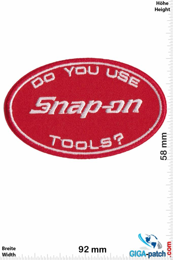 Snap-on  Snap-on - Do you use Snap -On Tools?