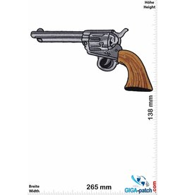 Gun - Pistole - Revolver - 26 cm