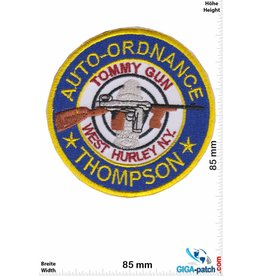 Auto-Ordnance - Tommy Gun - West Hurley N.Y. - Thompson - HQ