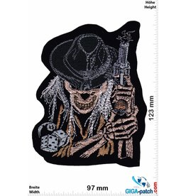 Totenkopf Skull Cowboy - Player - Cube 8 Ball - HQ