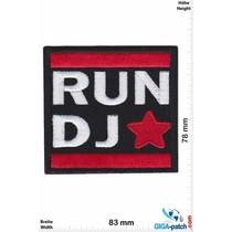 DJ DJ - Star - red blue
