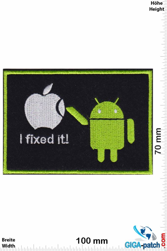 Android - i fix it! - Apple
