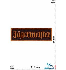 Jägermeister Jägermeister - Kräuter Likör - Text