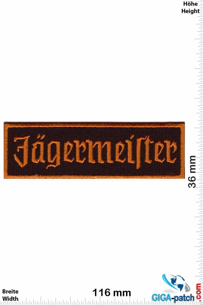 Jägermeister Jägermeister - Herbal liqueur - Font