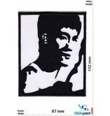 Bruce Lee - black white