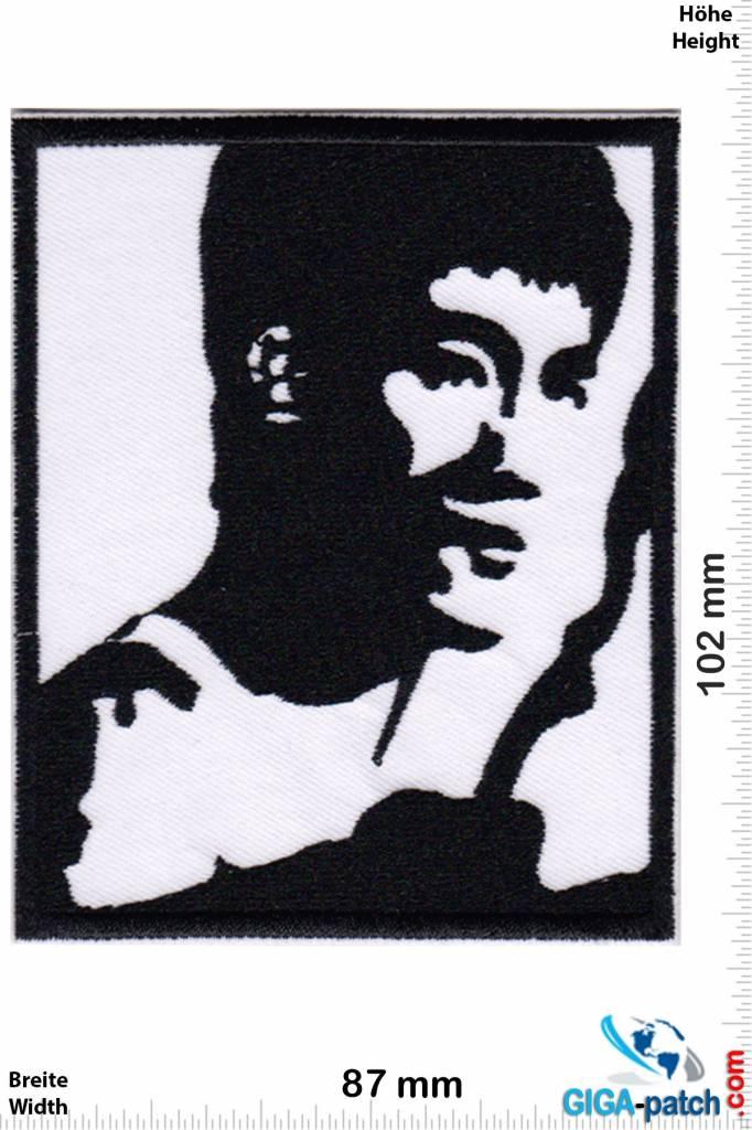 Bruce Lee - schwarz weiss
