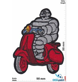 Vespa Vespa - Michelin Mann red- HQ