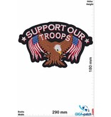 Biker Support our Troops - Eagle USA -  29 cm - BIG