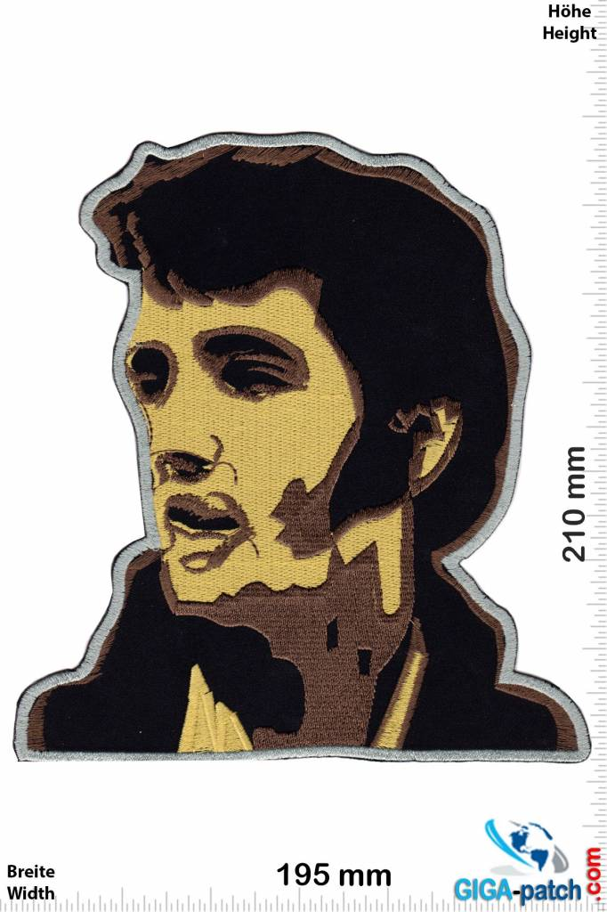 Elvis Elvis Presley - Live  - 21 cm - BIG