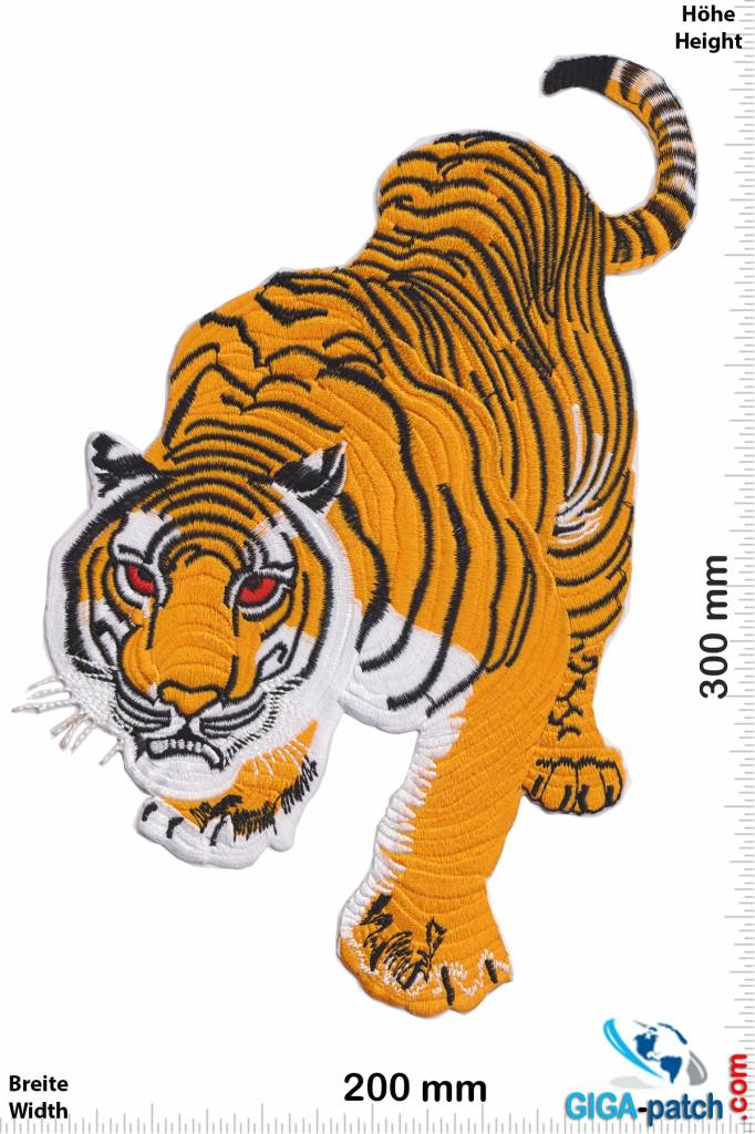 Tiger Tiger - color - 30 cm - BIG