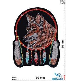 Indianer Wolf - Traumfänger - HQ