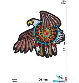 Indianer Eagle - dream catcher - HQ