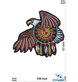 Indianer Eagle - dream catcher - HQ