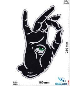 Hand Auge -OK - 25 cm