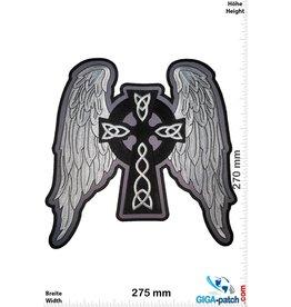 Crucifix Cross - Crucifix - Angel Wings -  27 cm