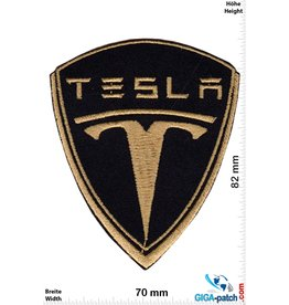 Tesla  Tesla Motors - E-Cars - Elektroautos -  Tesla Roadster - darkgold