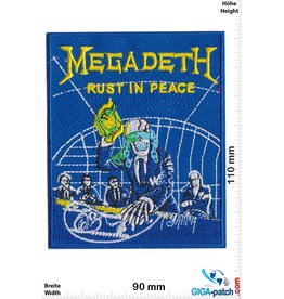Megadeth Megadeth - Rust in Peace - HQ