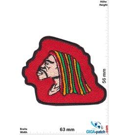 Bob Marley  Bob Marley - Reggae - red