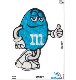 M&M's - blue - Mars & Murrie's