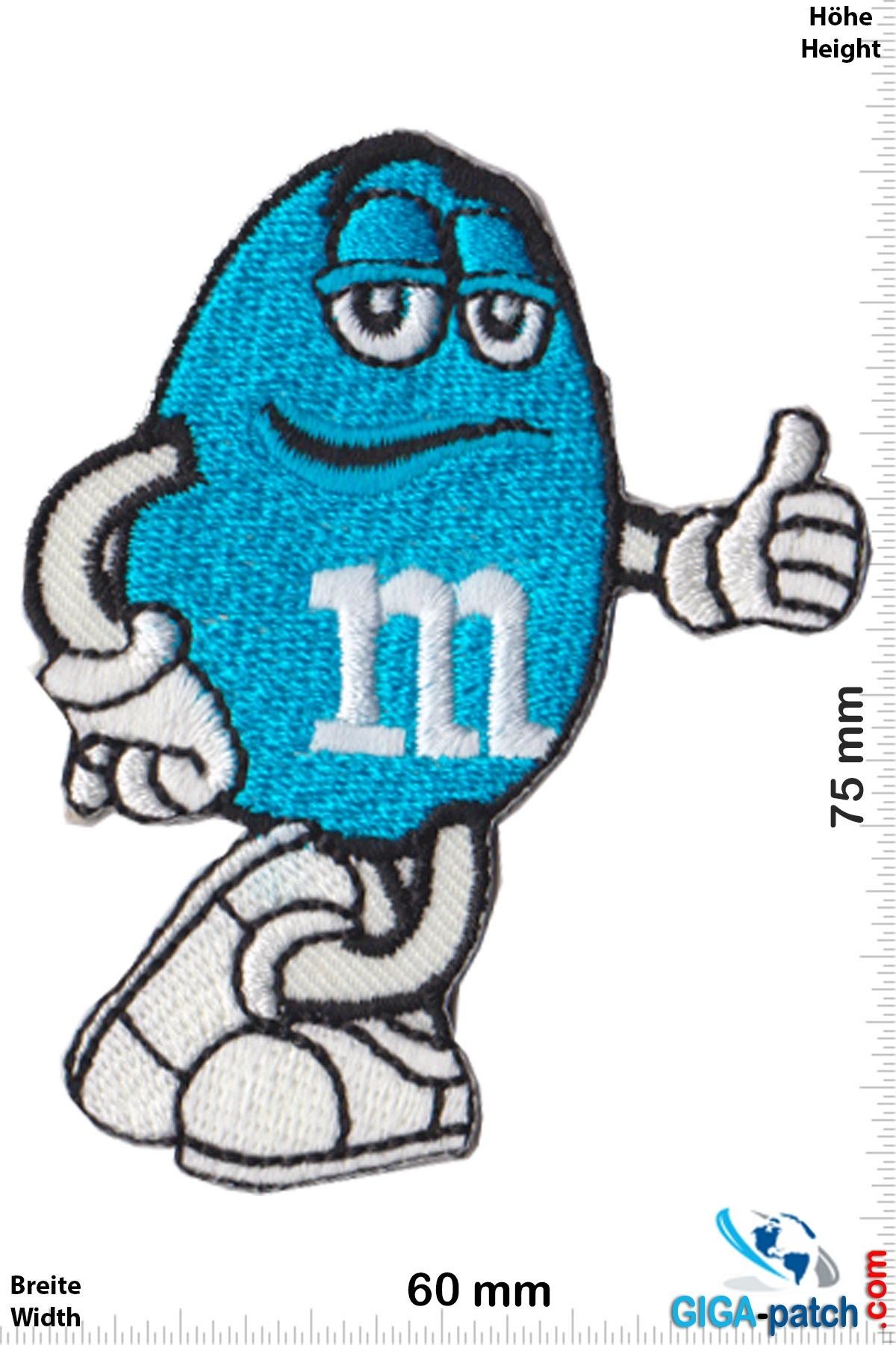 M&M's - blue - Mars & Murrie's