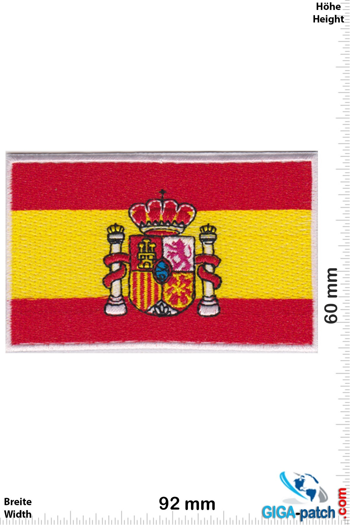 Spanien, Spain Flagge - Spanien - Flag Spain - big
