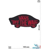 Vans Vans - black red