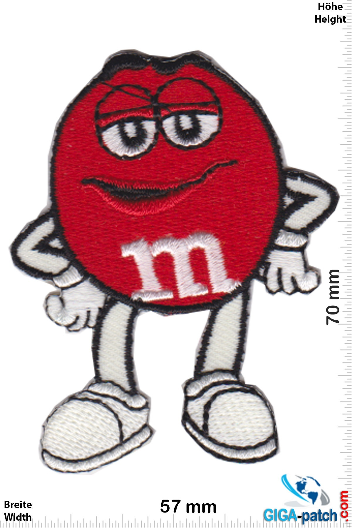 M&M's - red - Mars & Murrie's
