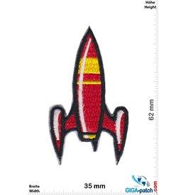 Rakete Rakete - Rocket - red
