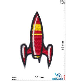 Rakete Rocket -red