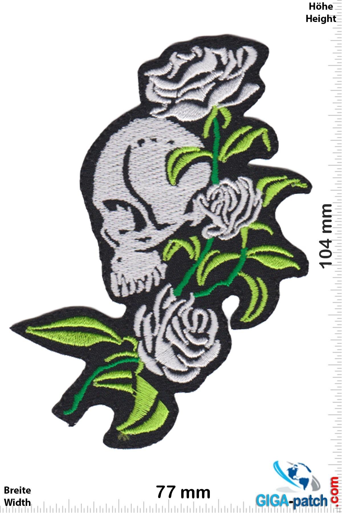 Totenkopf Totenkopf - rose - green