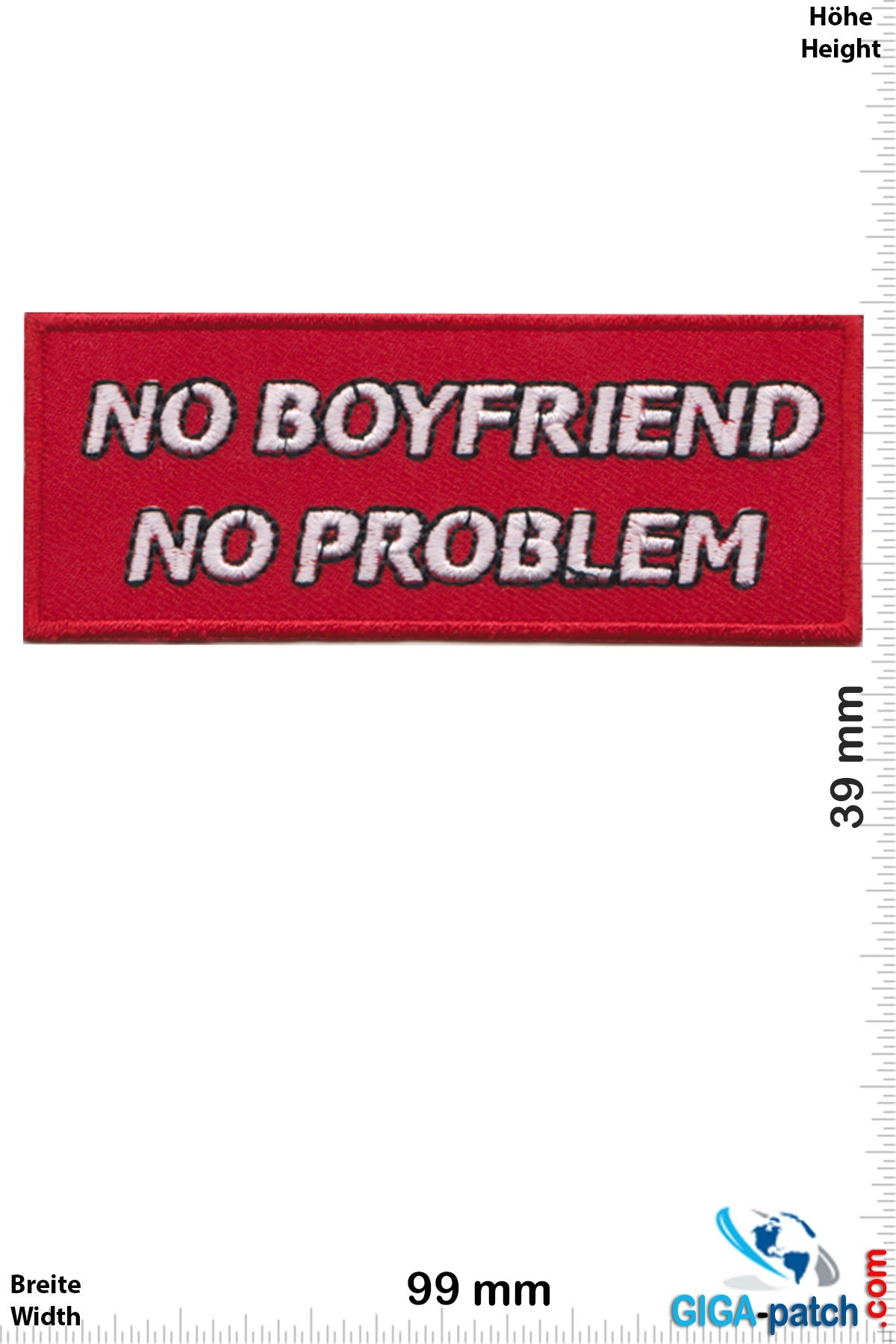 Sprüche, Claims No Boyfriend - No Problem