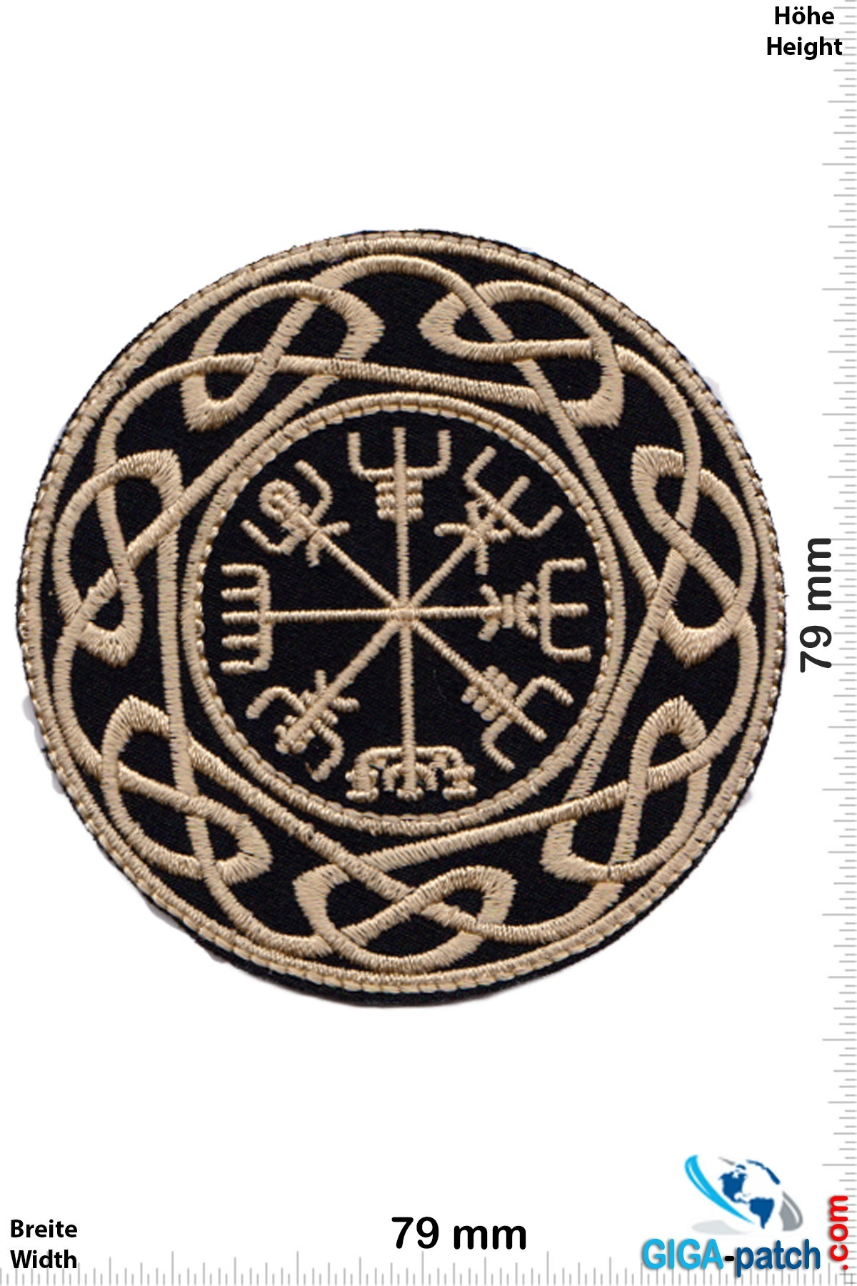 Celtic Compass - Celtic Symbols - Runic