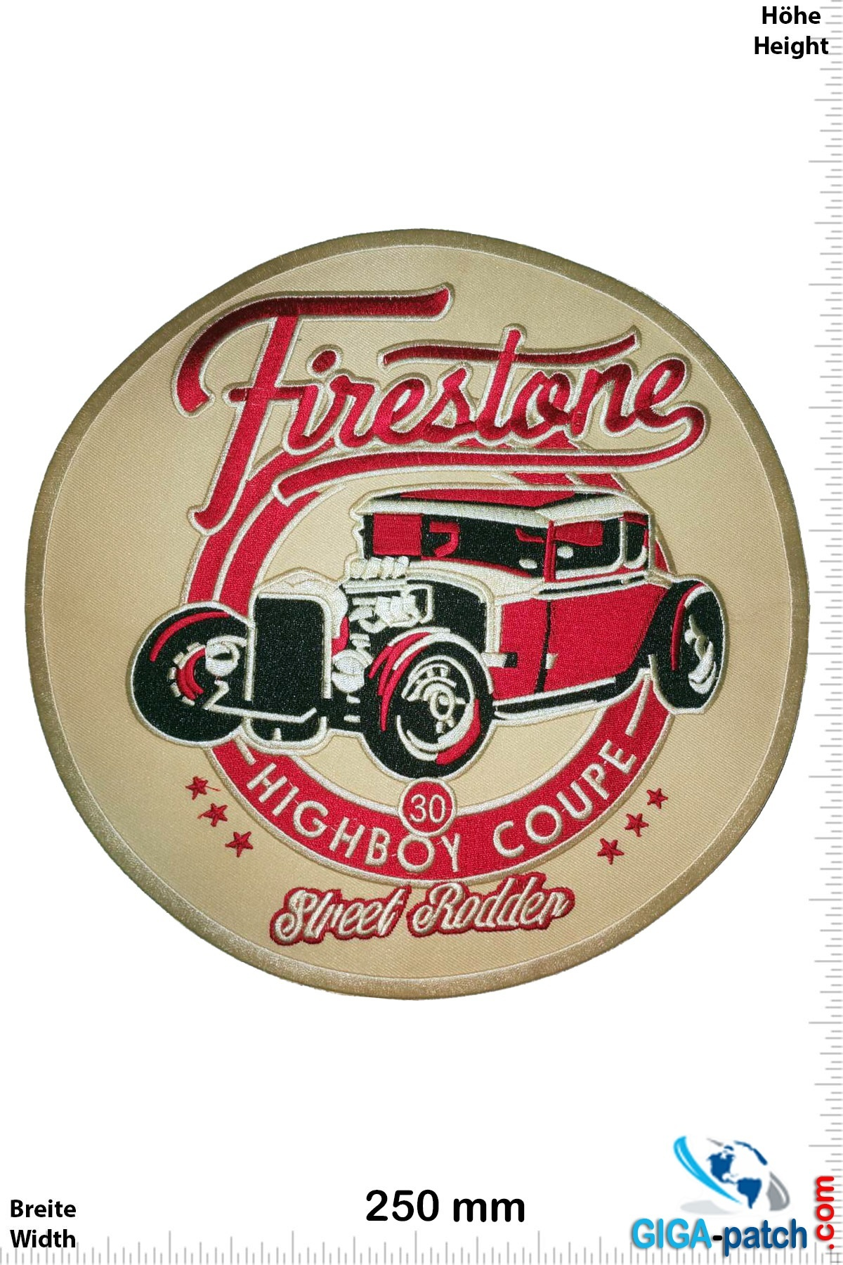 Firestone Firestone- Street Rodder - Highboy Coupe - 25 cm