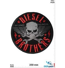 Diesel Brother - Go Hard Go Diesel - 25 cm